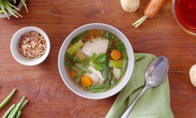 Resep Sup Ayam Bening yang Sehat dan Menyegarkan