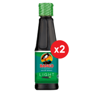 Bango Kecap Manis Light Botol Plastik 135ml (2 pack)