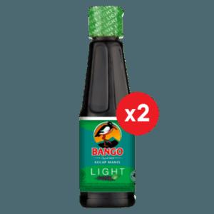 Bango Kecap Manis Light Botol Plastik 135ml (2 pack)