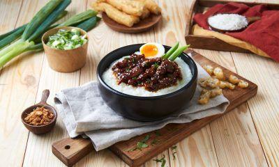 Resep bubur ayam gaya Korea, cocok untuk kapan saja termasuk sebagai menu sahur praktis.