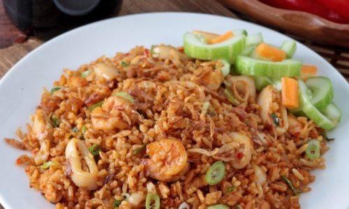 Resep Nasi Goreng Seafood Masak Apa Hari Ini