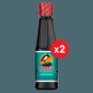 Bango Kecap Manis Botol Plastik 135ml (2 pack)