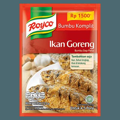 Royco Bumbu Komplit Ikan Goreng