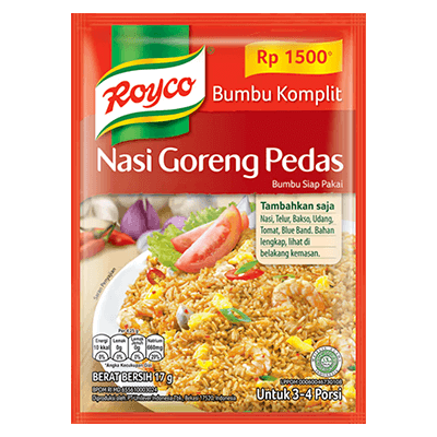 Royco Bumbu Komplit Nasi Goreng Pedas