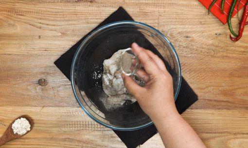 Resep Udang Tabur Sereal - Langkah 1