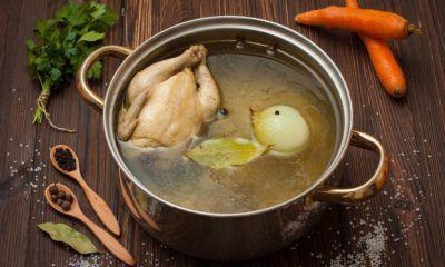 cara membuat kaldu ayam