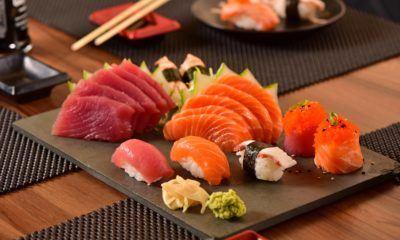 cara makan sushi