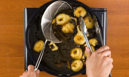 cumi goreng tepung saus mangga