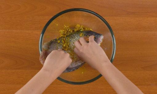 ikan gurame sambal dabu-dabu