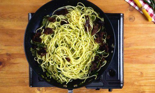 spaghetti dendeng