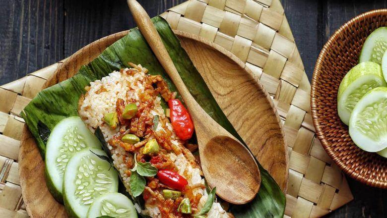 Resep Nasi Bakar Tempe Teri - Masak Apa Hari Ini?