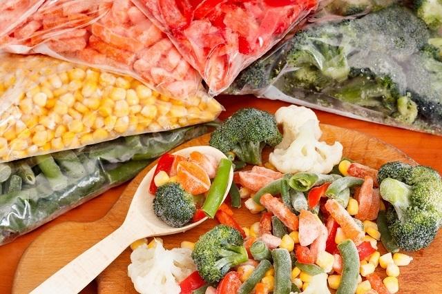 Selalu sedia sayuran beku