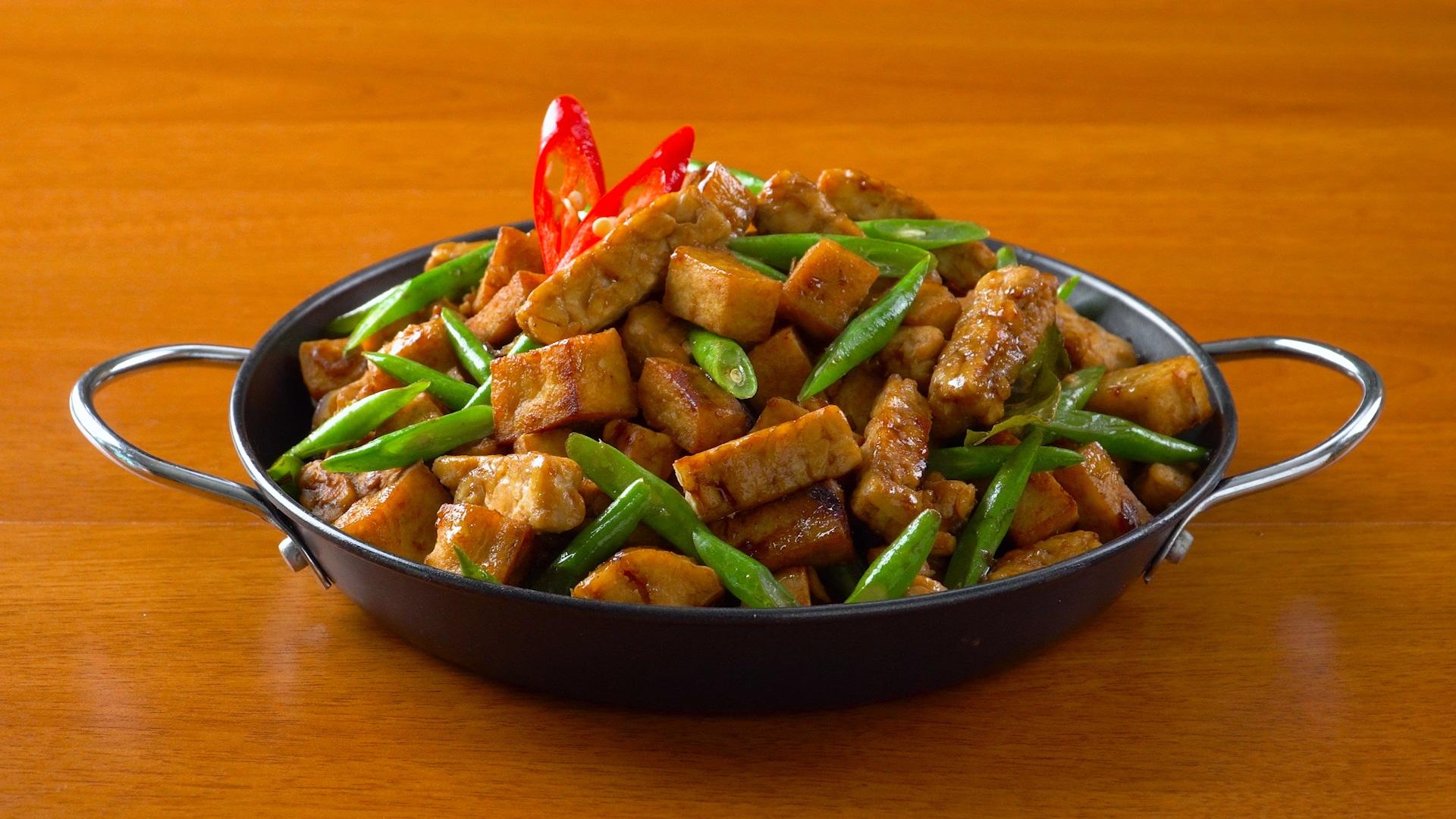 Resep Tumis Buncis Tahu Tempe, Makanan Sehat yang Mudah Dimasak