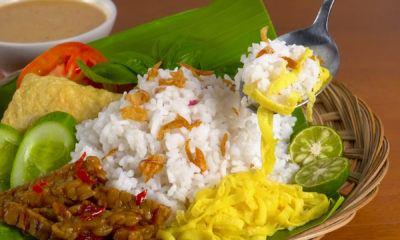 Sajikan nasi uduk bersama lauk favoritmu dari resep sarapan pagi ini