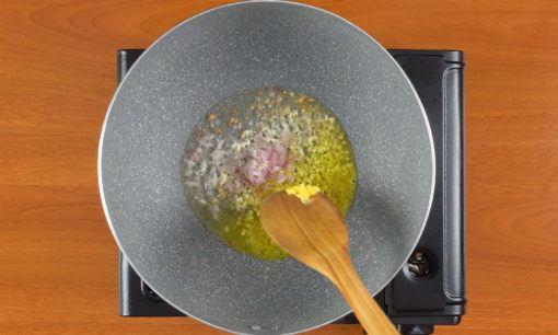 nasi goreng ayam cabe hijau