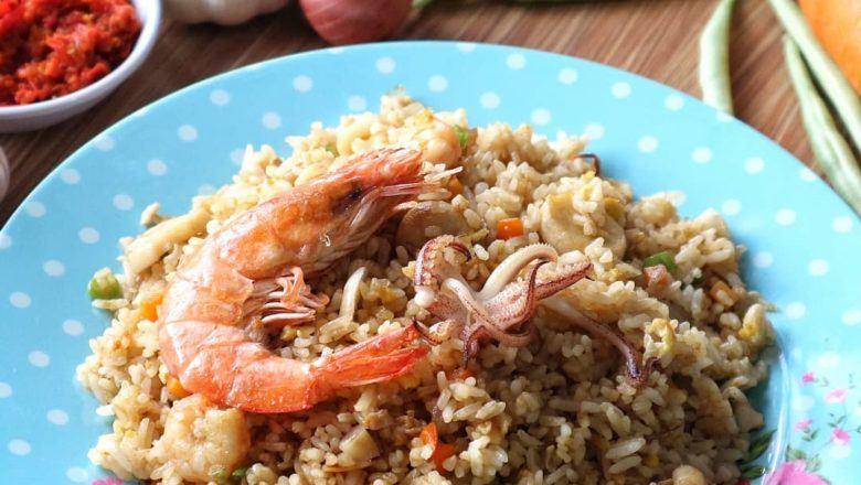nasi goreng seafood istimewa