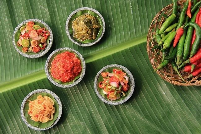 aneka sambal Nusantara untuk melengkapi resep nasi goreng spesial