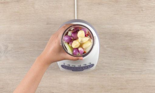 Bumbu halus untuk resep udang asam manis.