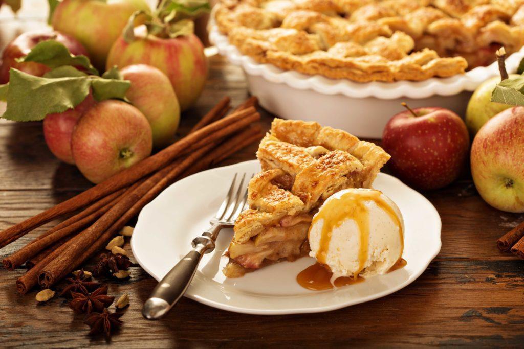 pai yang terbuat dari buah apel