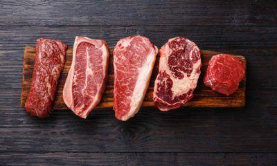 Macam-macam daging sapi.