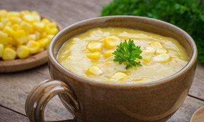 Resep dan Cara Membuat Sup Krim Jagung Manis yang Sederhana Namun Asli Enak dan Lezat
