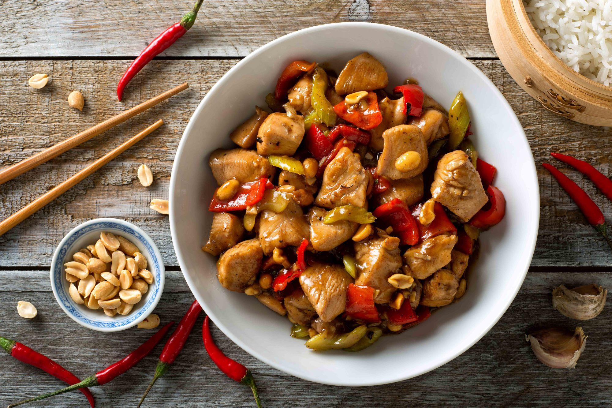 Resep Ayam Kung Pao Paling Populer - Masak Apa Hari Ini?