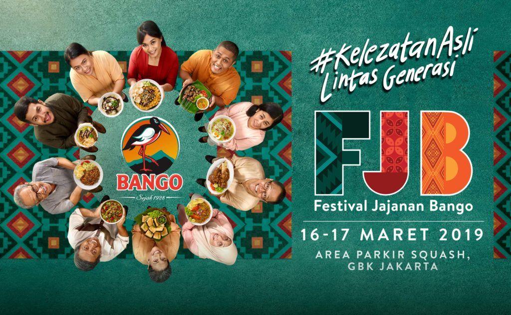 Festival Jajanan Bango 2019 akan hadir di Jakarta.