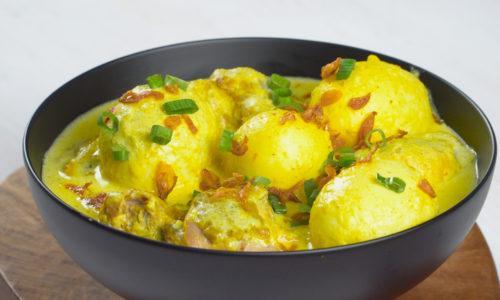 Resep Opor Telur Kuning Masak Apa Hari Ini