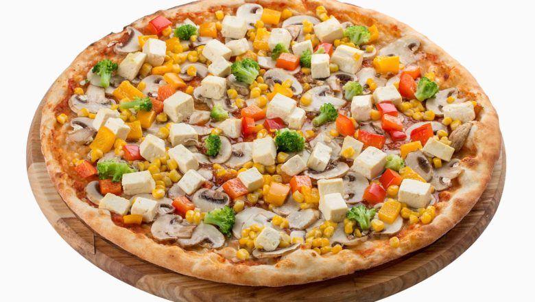Pizza Tahu tersaji.