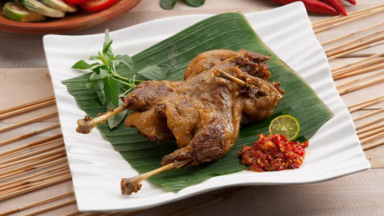 Bebek Goreng, alternatif seru dari ayam goreng.