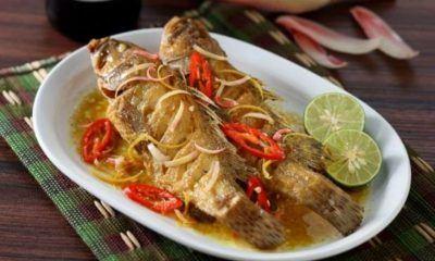 Resep Ikan Kerapu Siram Kecombrang, Cita Rasa Segar dan Rempah Berpadu