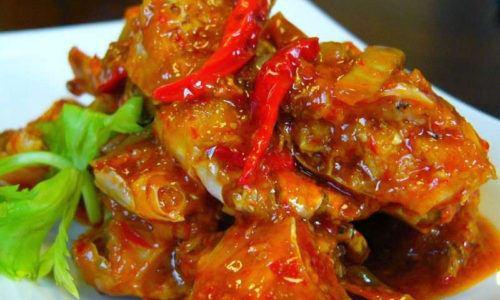 Resep Kepiting Saus Tiram Pedas Masak Apa Hari Ini