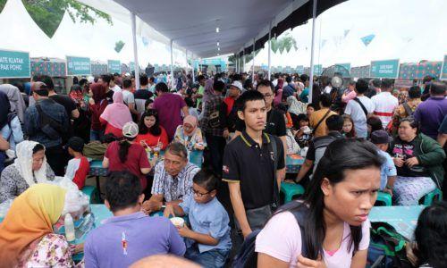 Kuliner legendaris Jakarta di festival kuliner terbesar di Indonesia.