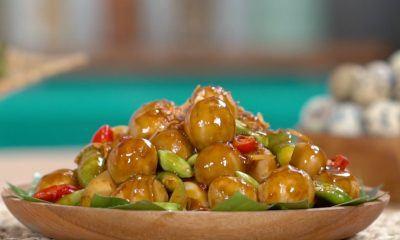 Resep Semur Telur Pedas Petai Cina, Pendamping Tepat di Segala Suasana