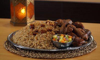 Nasi Kebuli Ayam cocok disajikan saat berbuka puasa.