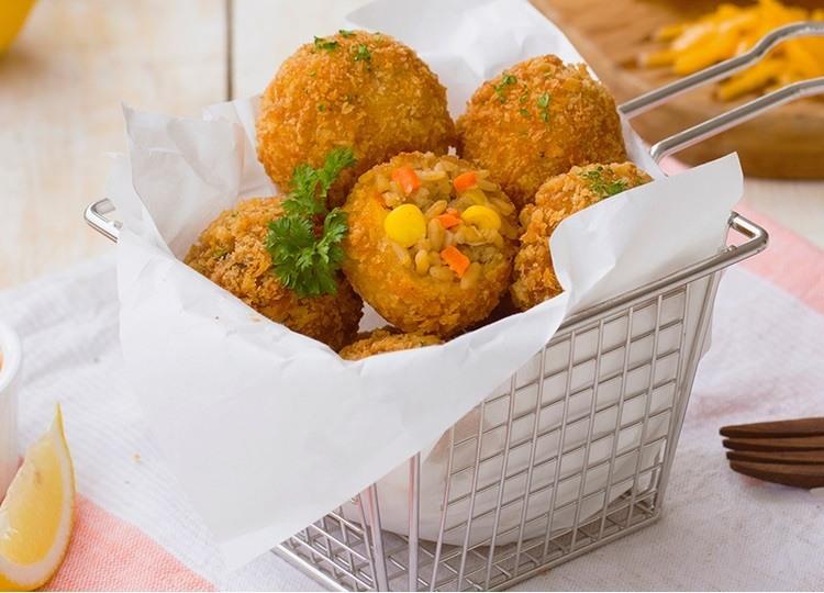 Resep Kroket Nasi Goreng Keju Masak Apa Hari Ini