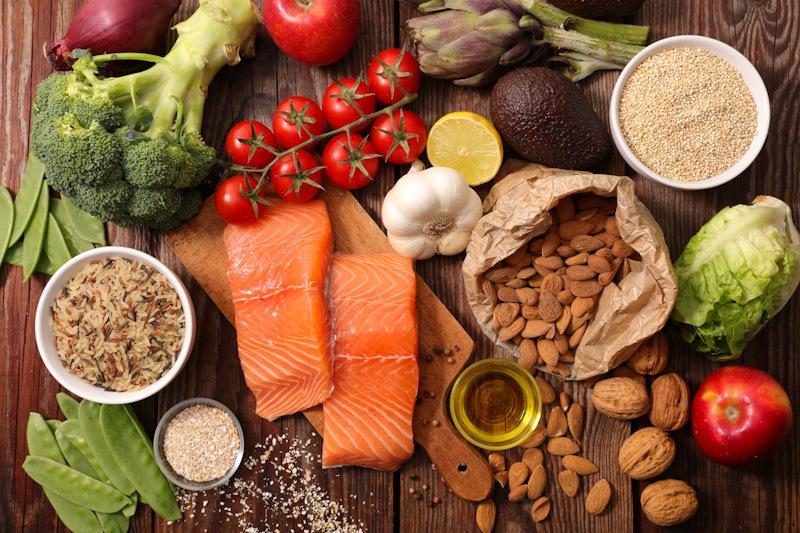 Pilihan makanan sebagai tips diet sehat pasca Ramadan.