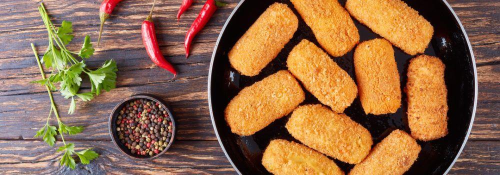 Kroket ayam mie, ide baru menghadirkan mie sebagai camilan.