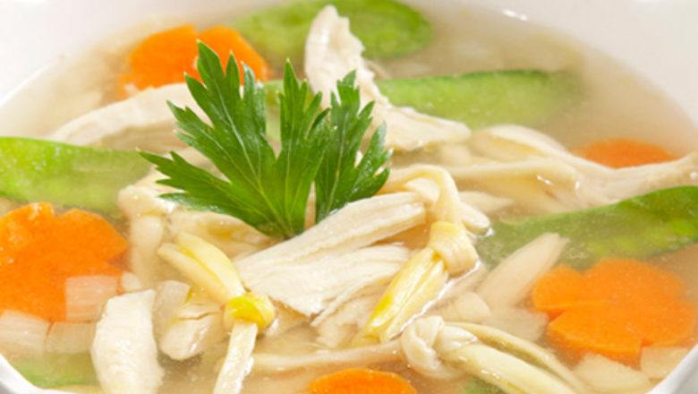 Sup bunga sedap malam, resep yang unik,