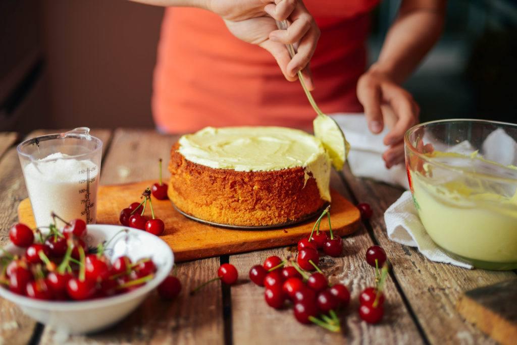 Teknik memasak baking kue.