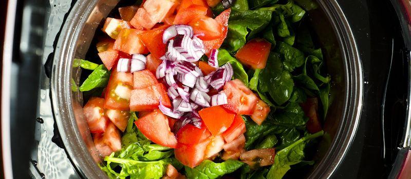 Makanan yang boleh dimasak menggunakan rice cooker adalah sayuran.