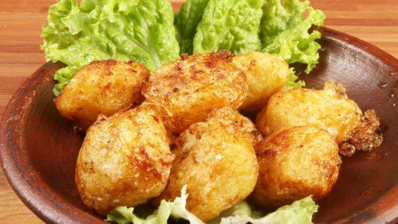 Perkedel Bihun Daging Cincang siap dinikmati.