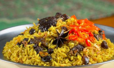 Nasi Mandi siap dinikmati saat Idul Adha.