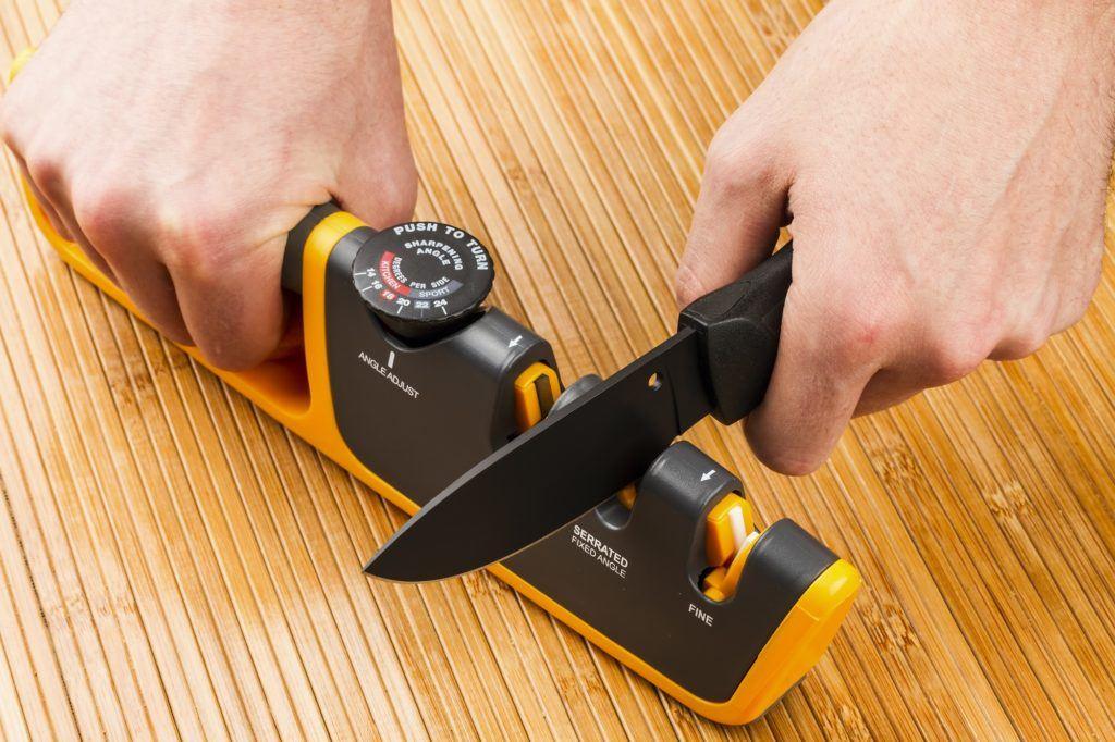 alat asah otomatis atau knife sharpener