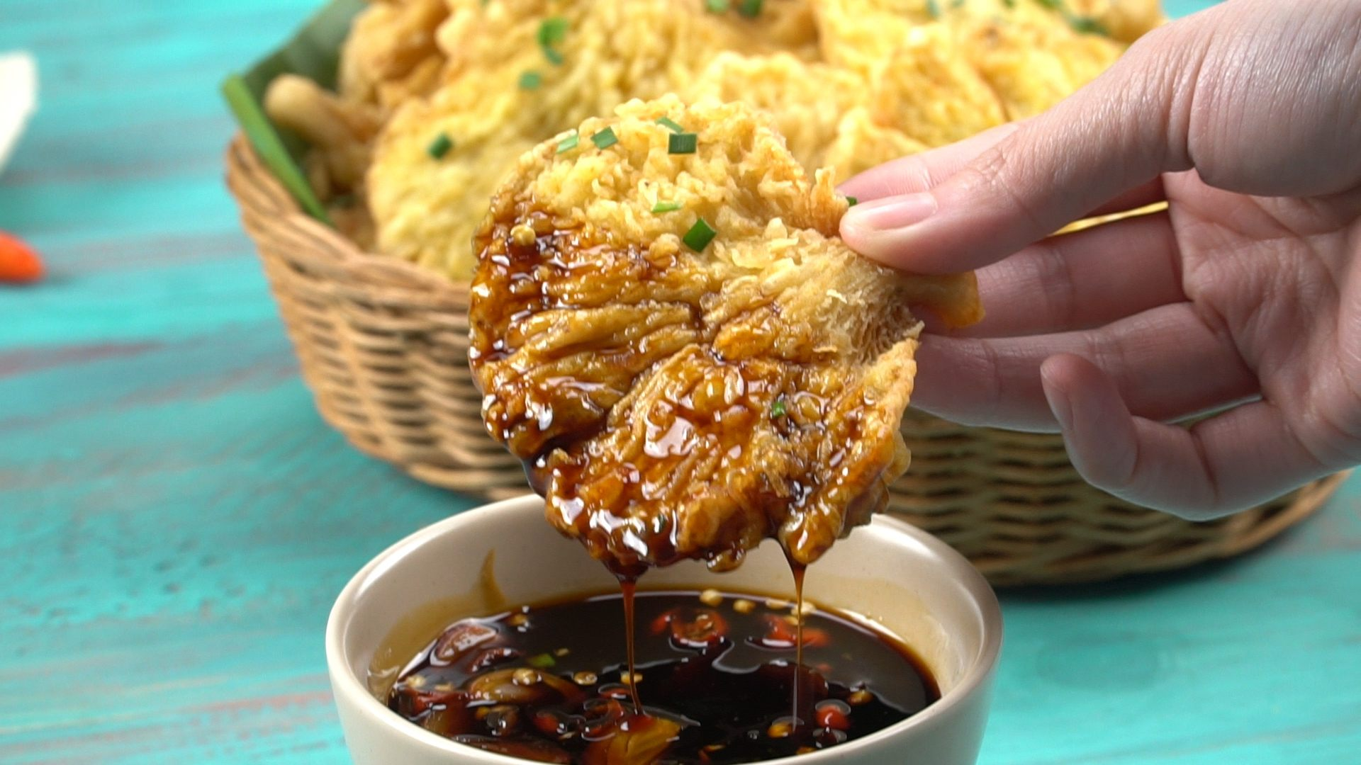 Cara Membuat Jamur Crispy Saus Kecap - Masak Apa Hari Ini