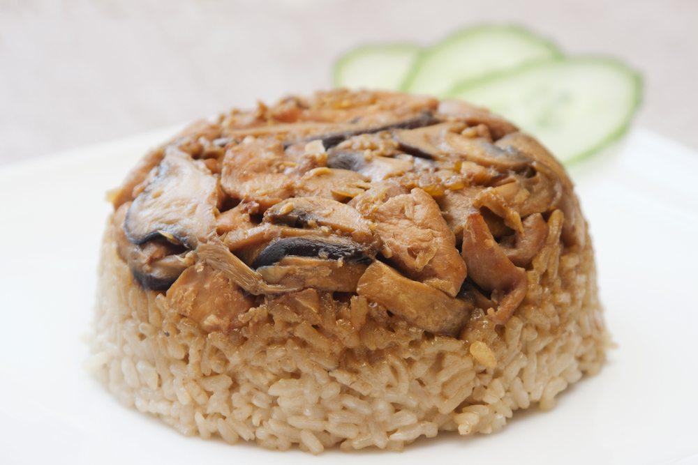 Resep Nasi Tim Ayam Jamur Masak Apa Hari Ini