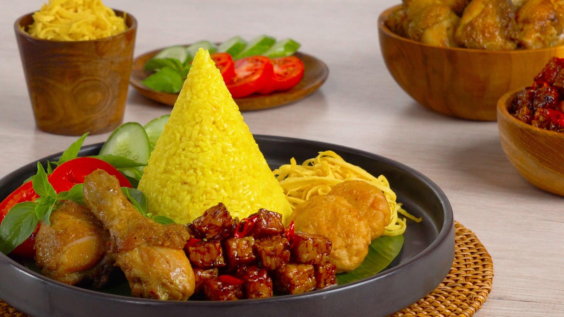 Resep Nasi Tumpeng Mini Untuk Hari Kemerdekaan Mahi