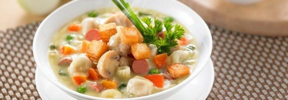 Resep Sup Krim Ayam Makaroni Masak Apa Hari Ini