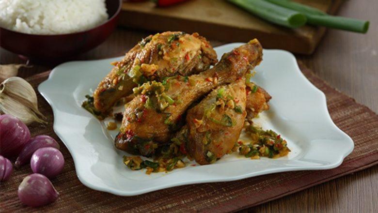 Hasil dari resep ayam cabe garam yang pedas dan gurih untuk sajian istimewa.