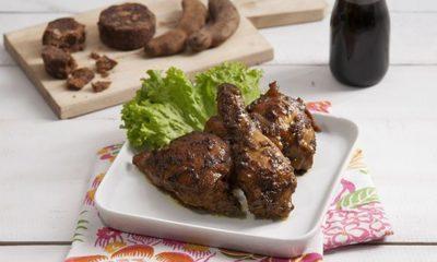 Hasil dari resep ayam bumbu parape yang siap dinikmati.